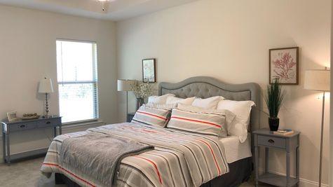Trenton III B - Master Bed Room - DSLD Homes