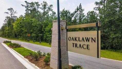 Community Entrance Sign - DSLD Homes - Oaklawn Trace - Slidell, LA