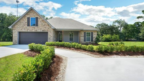 Raleigh IV A - Plan - Gray's Creek Community - Front of Home