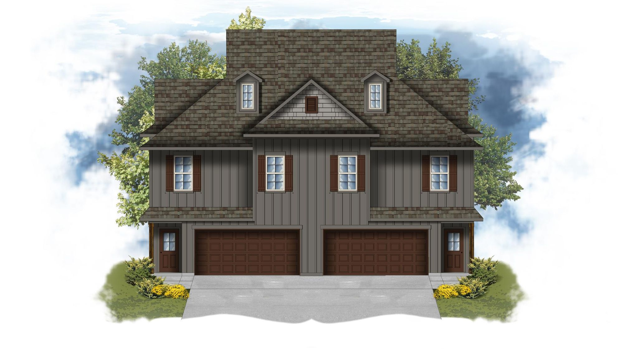 Cadet I A - Open Floor Plan - DSLD Homes- Multi Unit