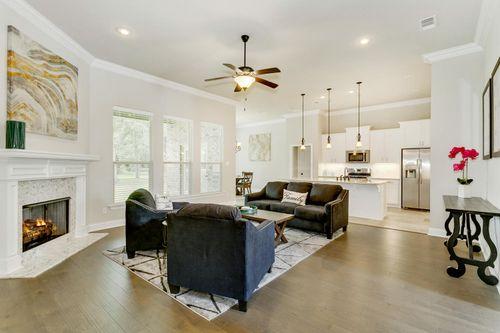 Sawyer's Ridge - Model Home Living Room - DSLD Homes - Chardin II C - Cantonment, FL