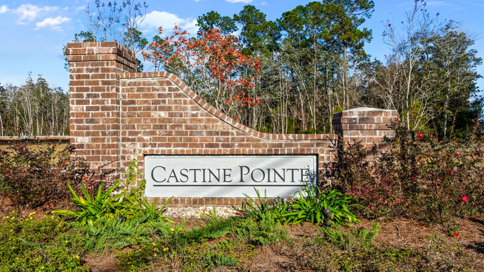 Castine Pointe Community Entrance - Long Beach, MS - DSLD Homes
