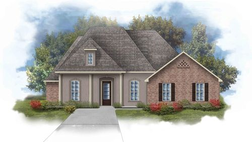 Renoir III D Open Floorplan Elevation Image - DSLD Homes