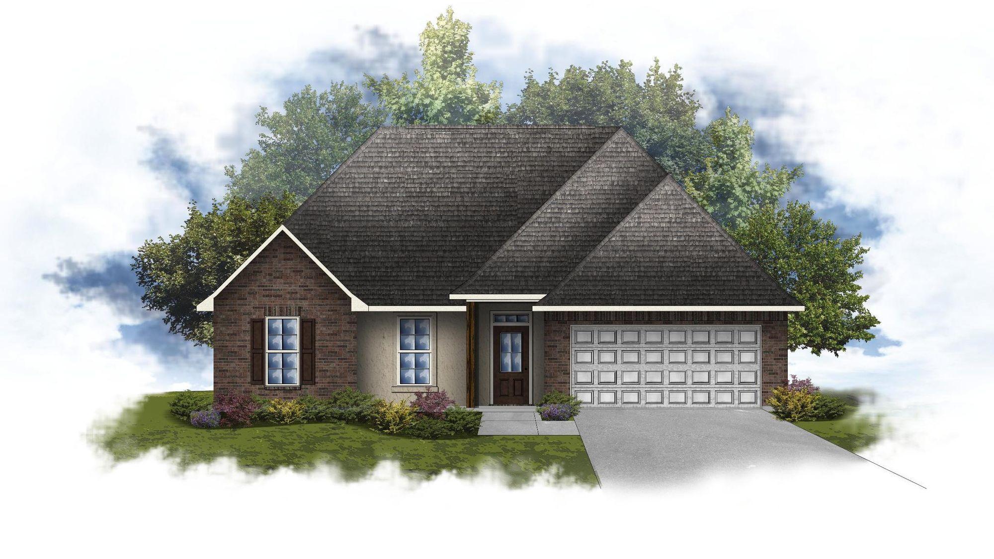 Roanoke IV A - Open Floor Plan - DSLD Homes