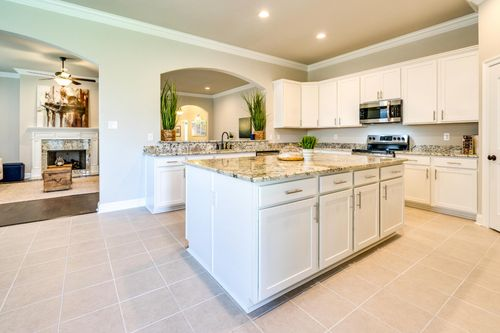 The Estates at Moss Bluff - Model Home Kitchen - DSLD Homes - Sycamore II A - Lafayette, LA