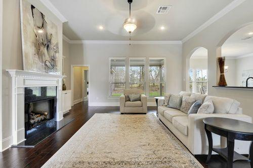 Northern Oaks - Model Home Living Room - DSLD Homes - Renoir III B - Pass Christian, MS