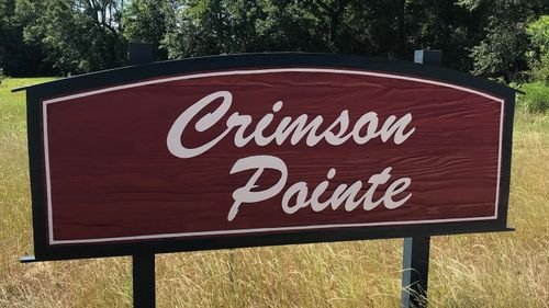 Crimson Pointe Community Front Entrance Sign- DSLD Homes -Pensacola