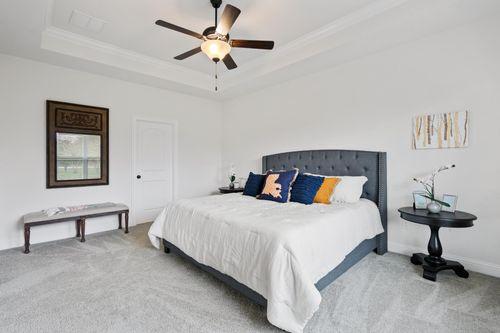 Fairview Gardens Model Home Master Bedroom - Cezanne III A - Zachary, LA
