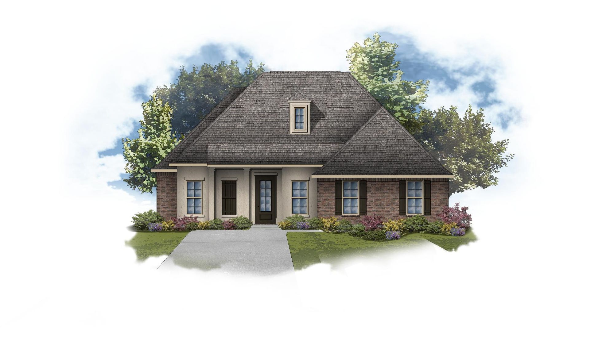 Henri II A - Open Floor Plan - DSLD Homes