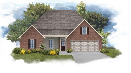 Camellia IV H - Front Elevation - DSLD Homes