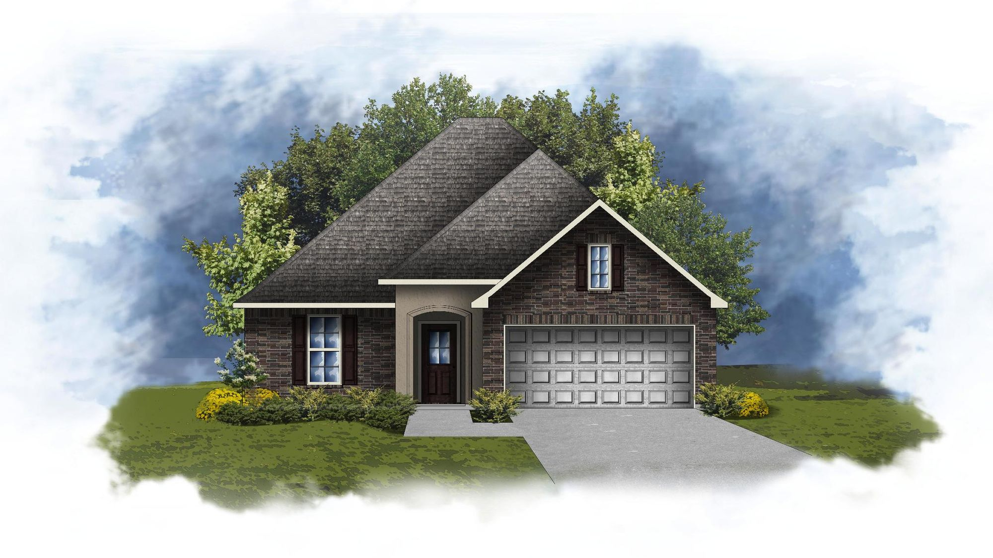Rayleigh III A - Open Floor Plan - DSLD Homes