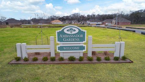 DSLD Homes - Ambassador Gardens - Lafayette, LA - Community Entrance