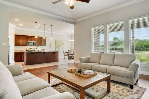 Savoy Place - Model Home Living Room - DSLD Homes - Collinswood II A - Gulfport, MS