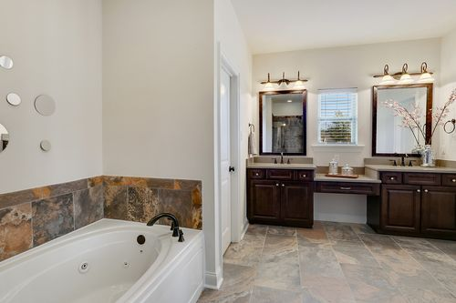 Tuscany West Estates - Model Home Master Bathroom - DSLD Homes