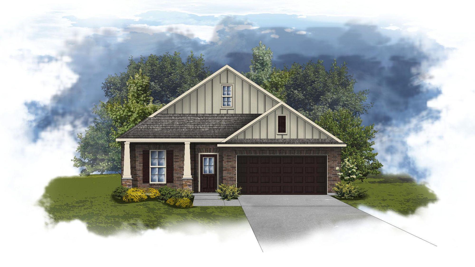 Norwood II A - Open Floor Plan - DSLD Homes