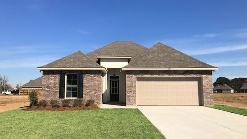 Front View Lavender IV B - Sugar Ridge Community - DSLD Homes Youngsville