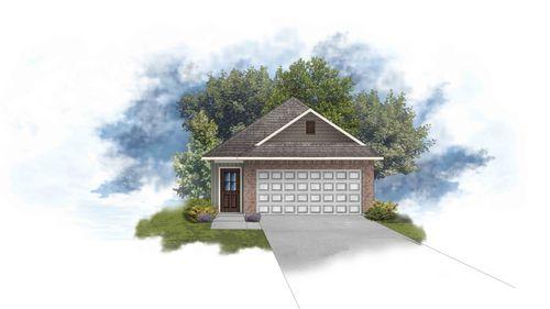 DSLD Homes - Hamilton II A Open Floor-plan Elevation Image