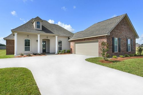 Paige Place - Model Home Exterior - DSLD Homes - Renoir III D - Broussard, LA