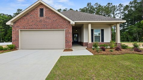 Model Home - DSLD Homes - Foley - Cypress Gates
