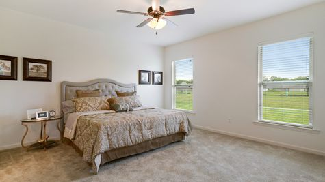 Master Bedroom- natural light- open floorplan- carpet- Model Home - DSLD Homes- Baton Rouge area - St. Gabriel- Louisiana- Meadow Oaks