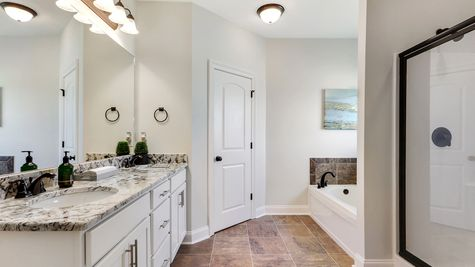 Master Bathroom - Ashton Parc - DSLD Homes Slidell