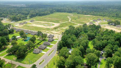 DSLD Homes- Hidden Lakes Estates- Denham Springs- Community Aerial View