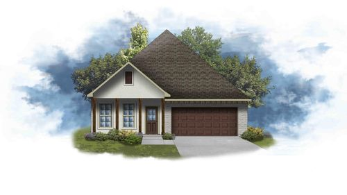 Orleans IV A - Open Floor Plan - DSLD Homes