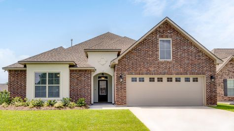 DSLD Homes - Sycamore II A Open Floorplan - Exterior Elevation Image
