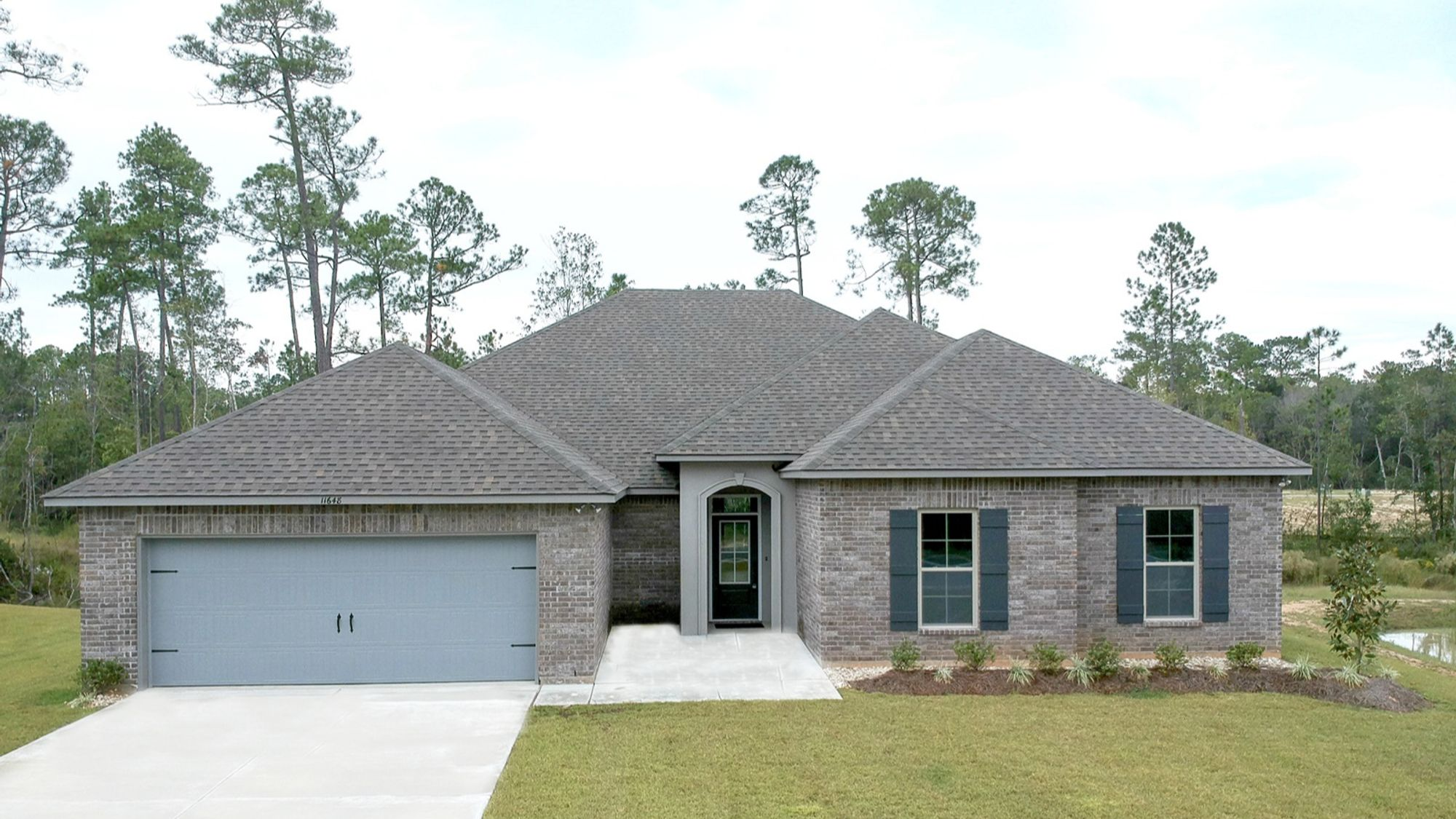 Front View Coolidge III A Talla Pointe Community DSLD Homes Ocean Springs