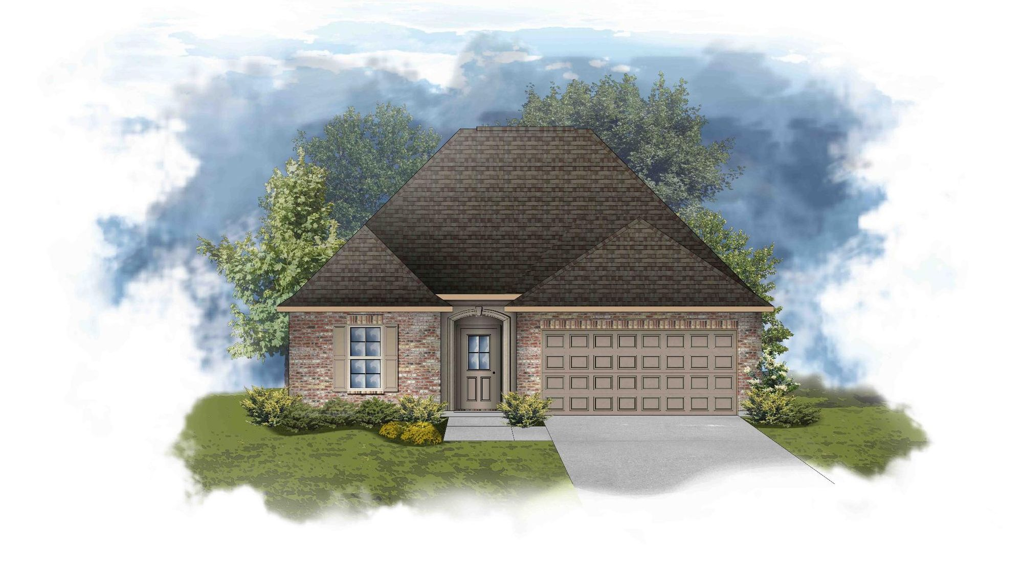 Chantilly III B - PB - Open Floor Plan - DSLD Homes