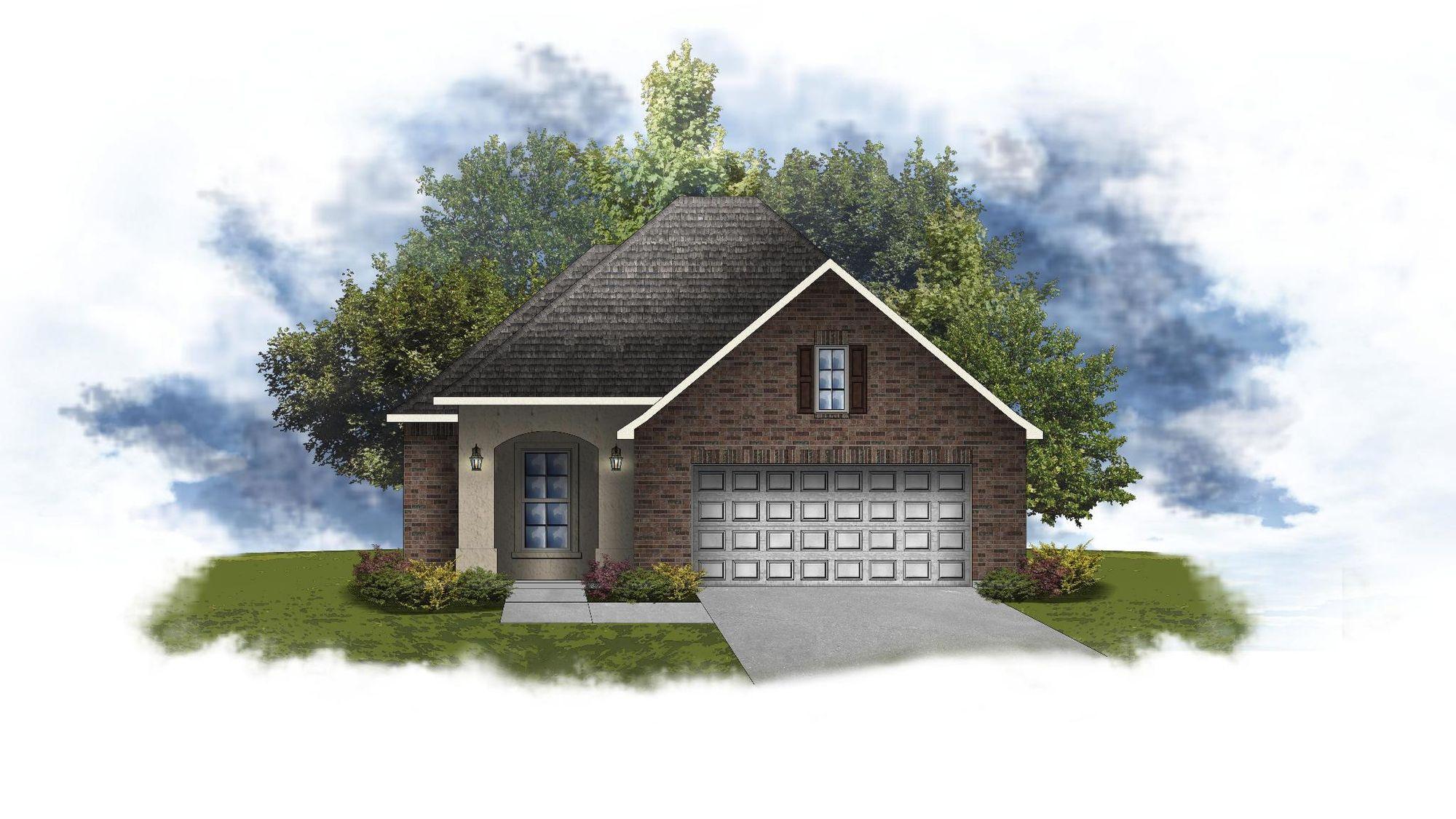Dorchester III A - Open Floor Plan - DSLD Homes