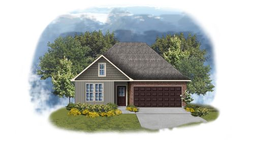 Yancy II G - Front Elevation - Open Floor Plan