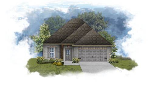 Dante III B - PB - Front Elevation - DSLD Homes