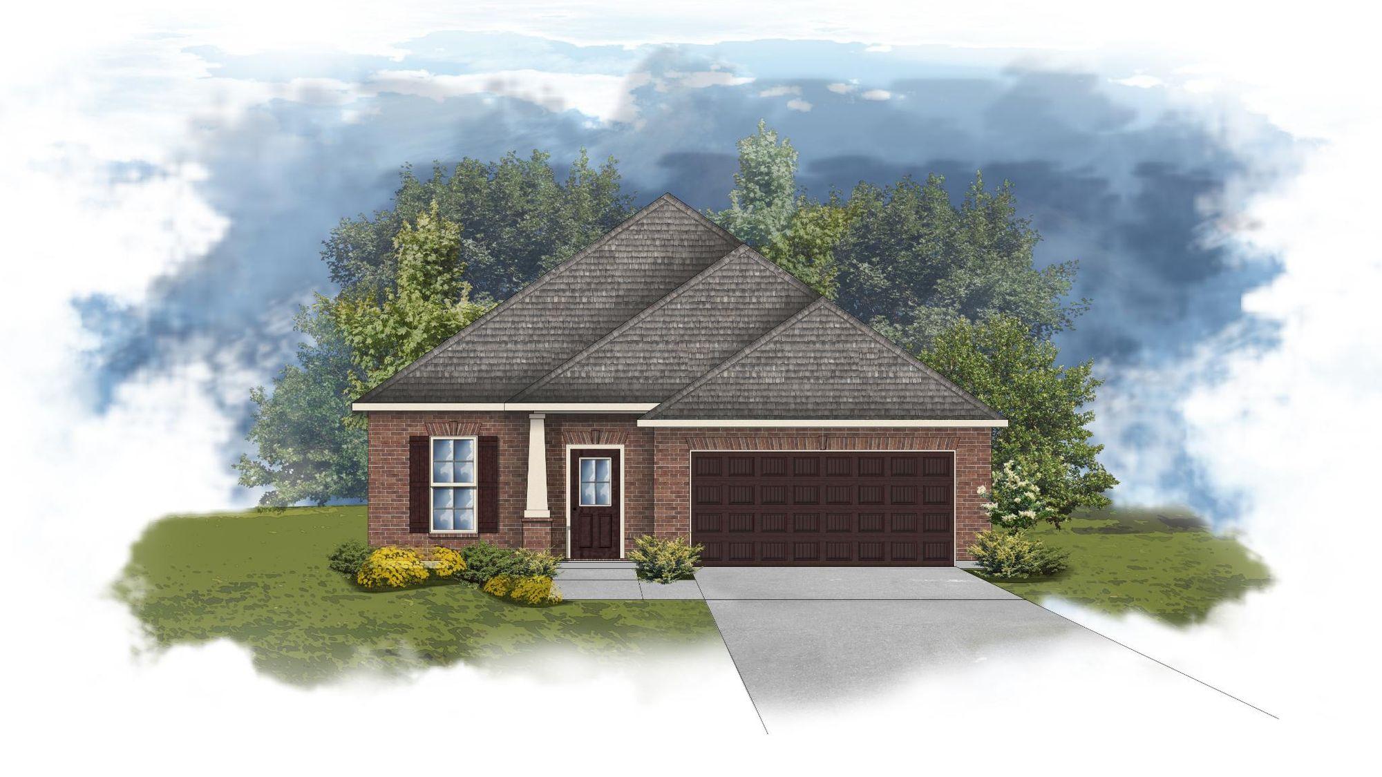 Delmar II B - Open Floor Plan - DSLD Homes