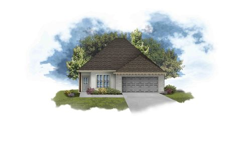 Bagneaux III B - PB - Open Floor Plan - DSLD Homes