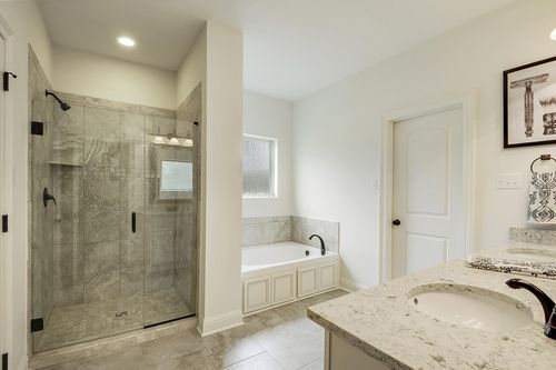Spring Lakes - Model Home Master Bathroom - DSLD Homes - Deacon IV A - Covington, LA