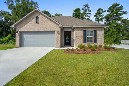 Hunter's Ridge - Model Home Exterior - DSLD Homes - Connelly III A - Denham Springs, LA