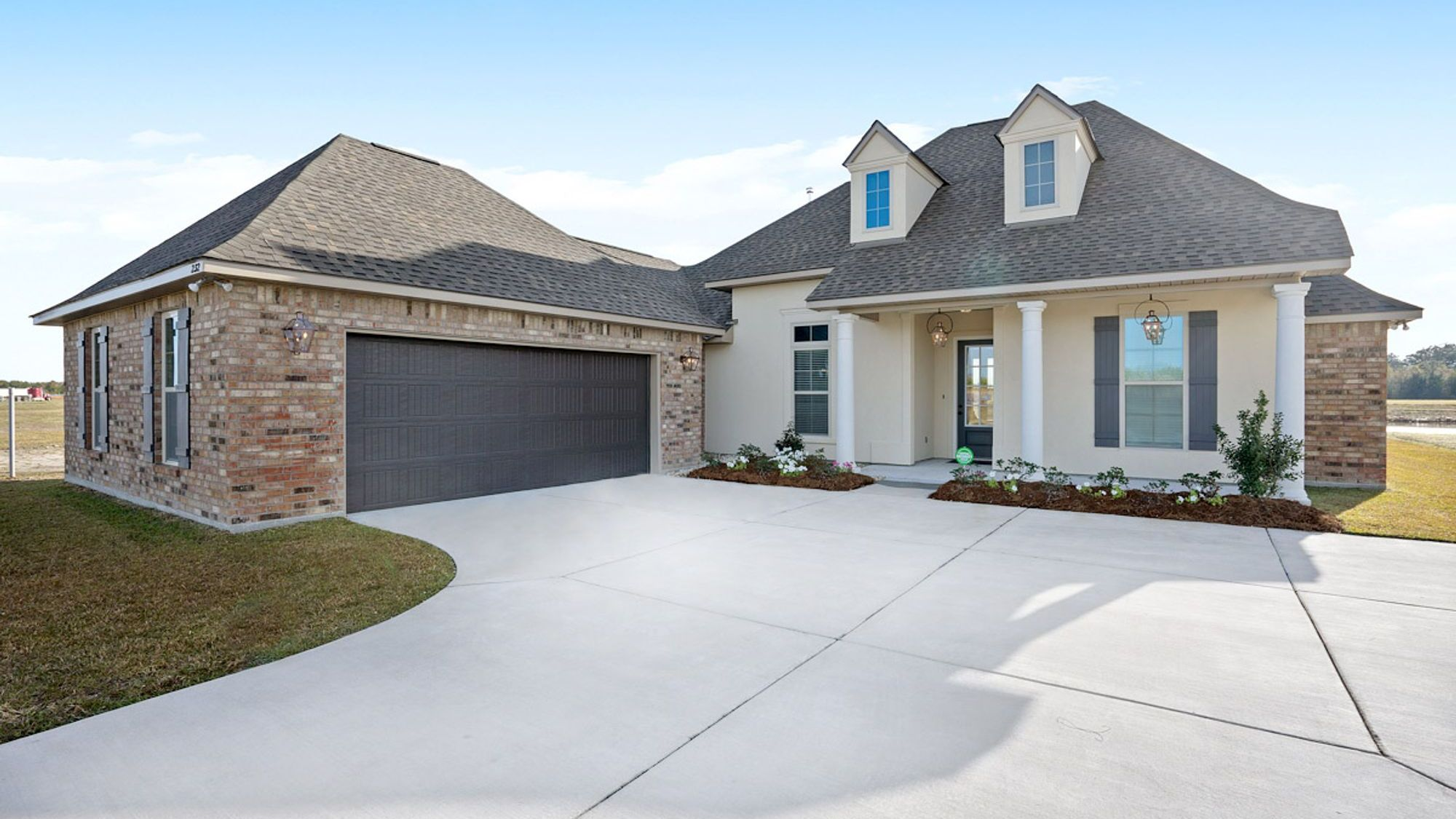 Renoir III C Plan - The Settlement at Live Oak Professional Images - Front of Model Home - DSLD Homes