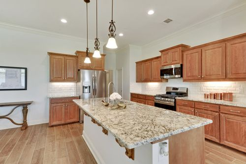 The Reserve at Conway - Model Home Kitchen - DSLD Homes - Klein II B - Gonzales, LA