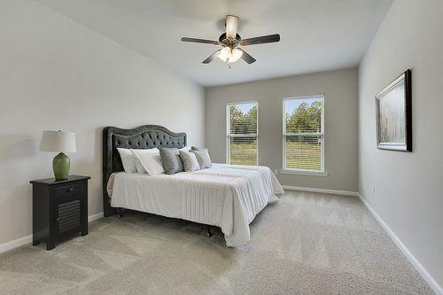 Evangeline Trace - Model Home Master Bedroom - DSLD Homes - LaCrosse IV A - Houma, LA