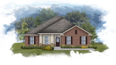 Rosita III A - Front elevation - Open floor plan
