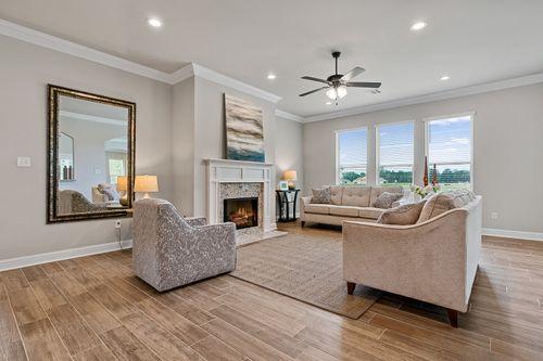 The Estates at Silver Hill Model Home - DSLD Homes - Ponchatoula, LA - Sansa II A Floor Plan