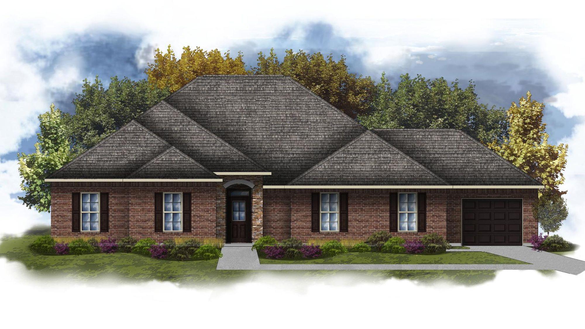 Cleveland III H - Open Floor Plan - DSLD Homes