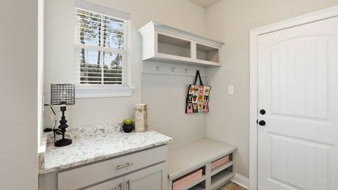 The Waters Model Home Professional Pictures - Mud Room  - DSLD Homes