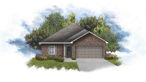 Plymouth III G - Front Elevation - DSLD Homes
