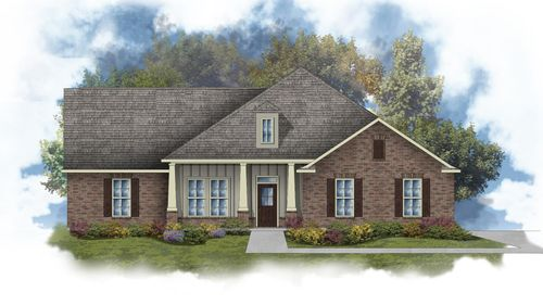 Jefferson III B - Open Floor Plan - Front Elevation