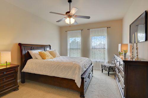 Redwood Lake - Model Home Master Bedroom - DSLD Homes - Salisbury II A - Zachary, LA