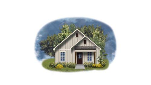 Castle III H - Front Elevation - DSLD Homes