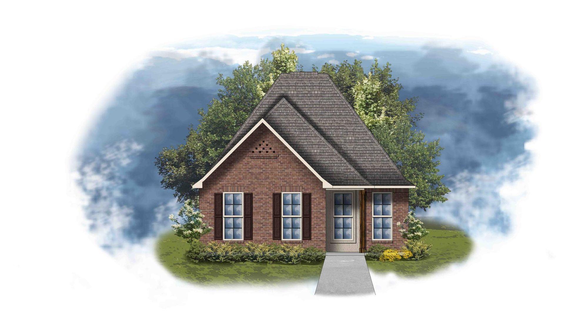 Santiago III A - Open Floor Plan - DSLD Homes