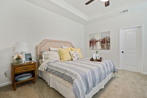 Gray's Creek Model Home Master Bedroom - DSLD Homes - Rowland IV G - Denham Springs, LA